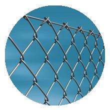 Заборы из сетки-рабицы