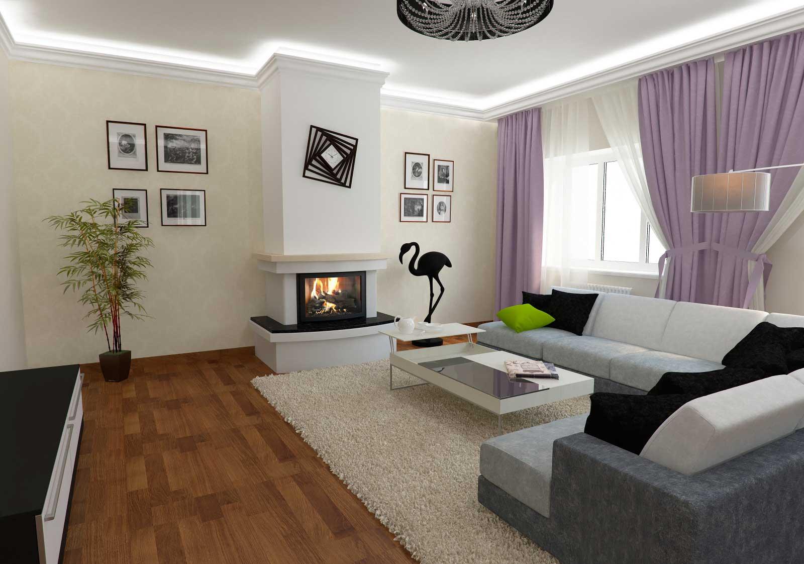 Коттедж дизайн гостиной