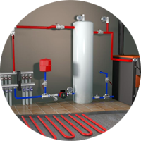 Монтаж системы отопления