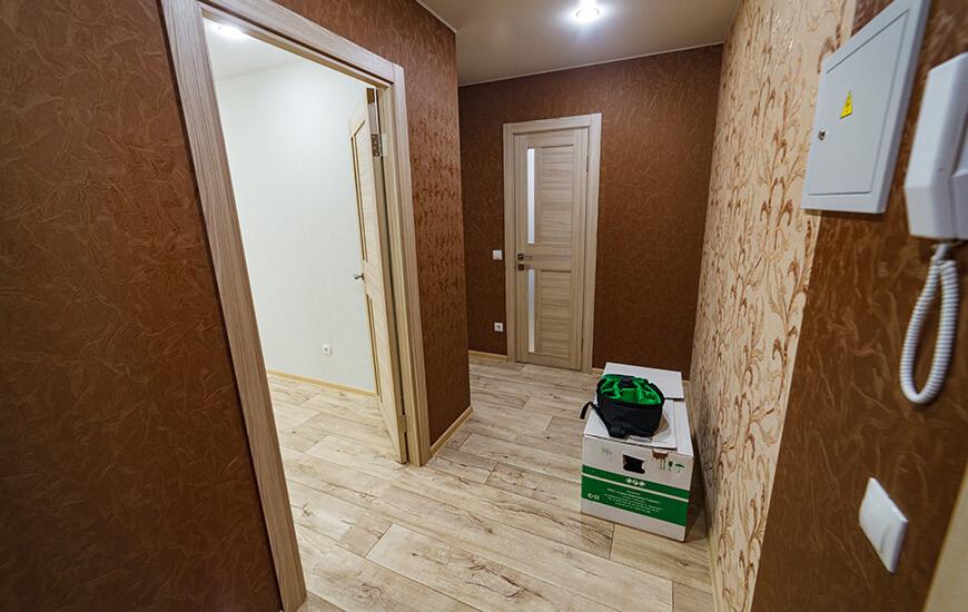 Типовой ремонт квартиры на Рождественского, 1
